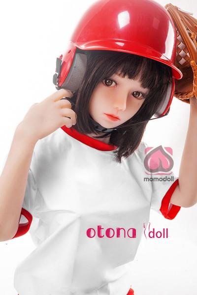 直子MOMODOLL 野球の女の子 #59 可愛ロリラブドール138cm evo骨格