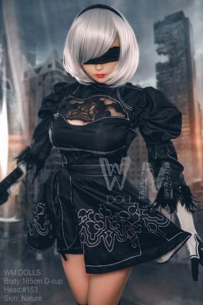 皐月 165cm等身大ラブドール WM Doll #153 D カップ