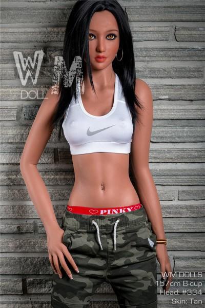 安佐子 163cm等身大ラブドール 巨乳 WM Doll #334 H カップ