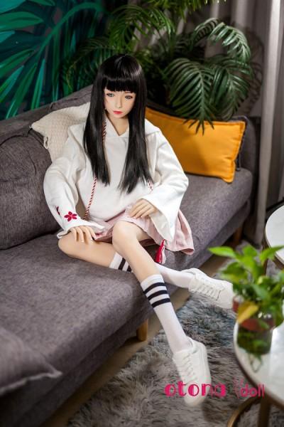 152cm Suzume雀 XY Doll シリコン頭部+TPEボディー美人ドール Aカップ