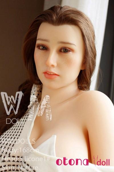 168cm Sara紗羅 Fカップ WM Doll#1 TPE+シリコン赤毛ドール